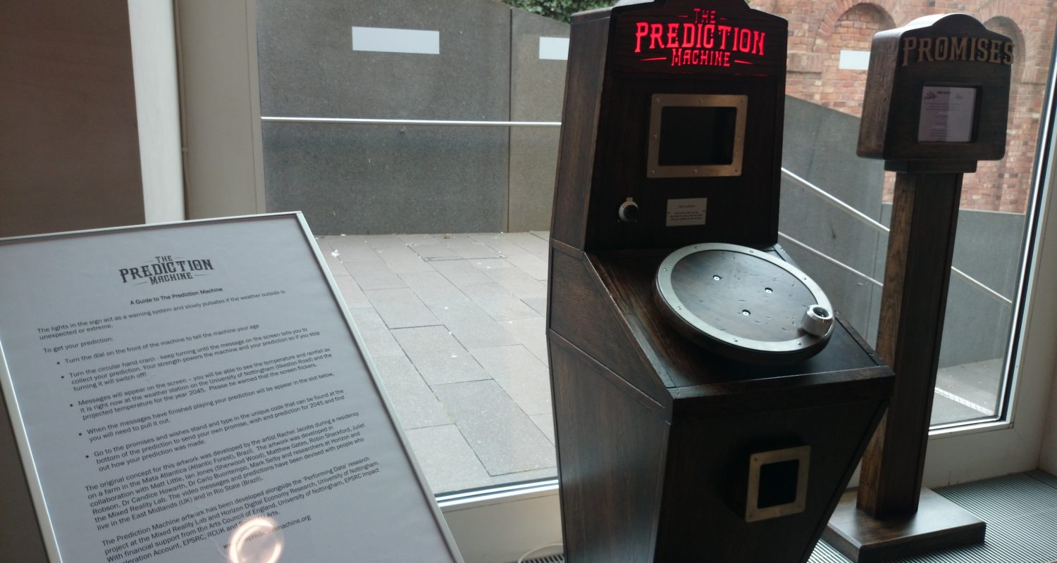 The Prediction Machine and the Promises Machine at Nottingham Contemporary 2016